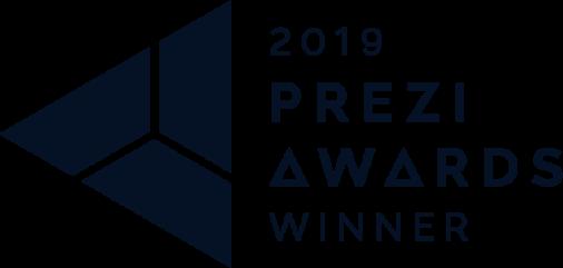 DELFER Prezi Award 2019 Auszeichnung
