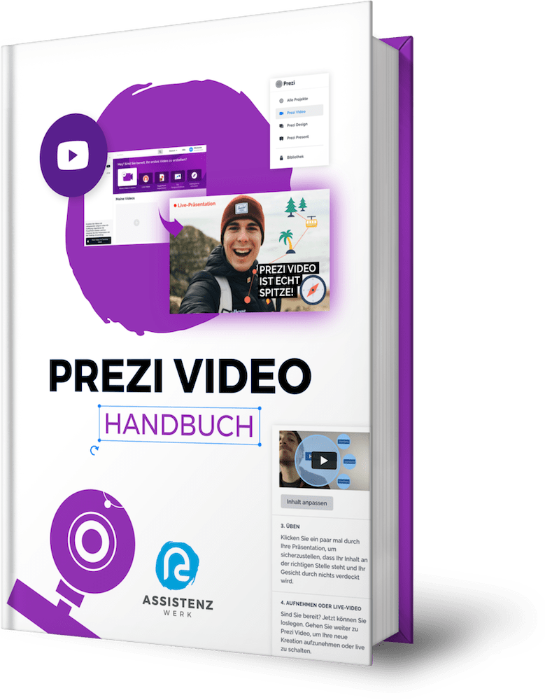 Prezi Video Handbuch Cover